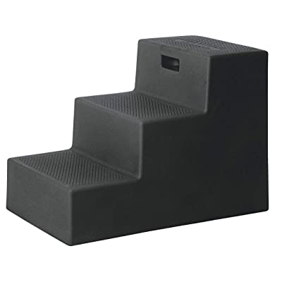 "High Country Plastics MS-22BK Three Mounting Step, 22"", Black: Sports & Outdoors"