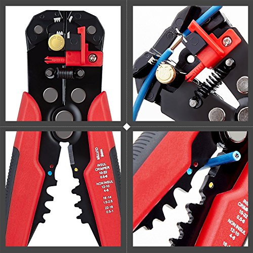 Mult WGGE WG-015 Professional crimping tool//Multi-Tool Wire Stripper and Cutter