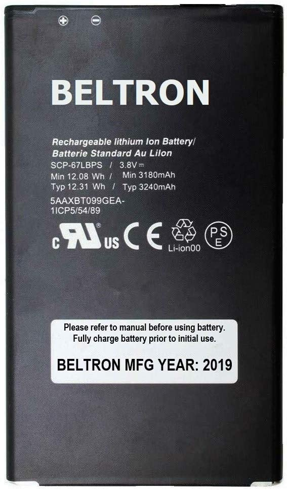 Renewed AT&T, Sprint, Verizon SCP67LBPS New BELTRON SCP-67LBPS ...