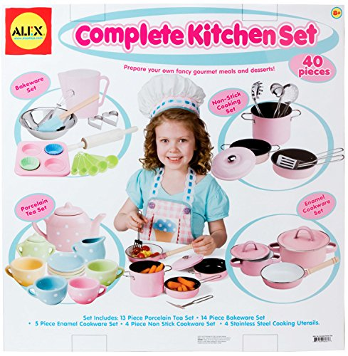 Alex toys complete kitchen set games pretend play pretend for Kitchen set wala game