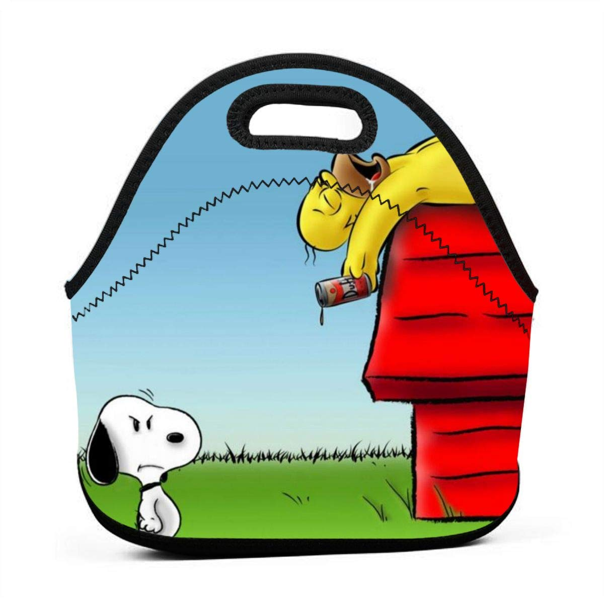 N/A Snoopy y Simpson Bolsa pequeña para el Almuerzo, Bolsa de ...