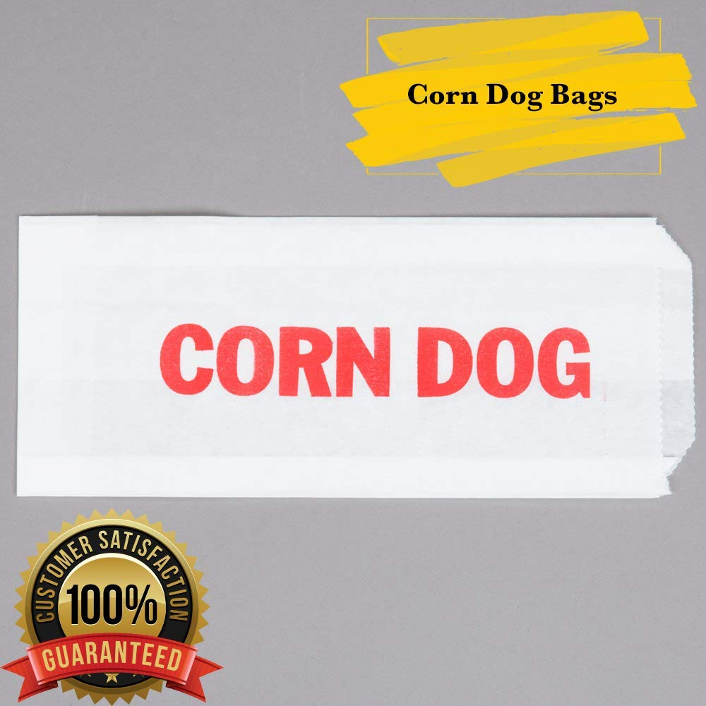 50 MM Foodservice Printed Paper Corn Dog Bags