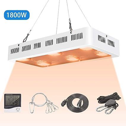 Amazon.com: X6 1800W COB LED Grow Light UV Full Spectrum X6 ...