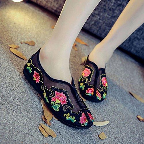 Schuhe Casual Die Damen BG Frauen Frauen NGRDX Der Frauen Frühling Stickerei Sneaker black amp;G qAxxnSzv