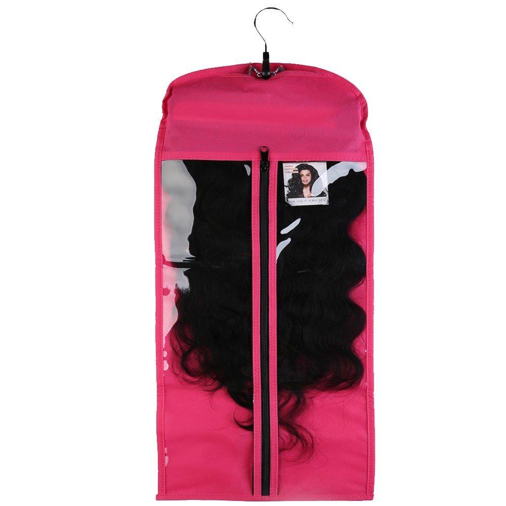 Amazon Hair Extensions Carrier Storage Black Non Woven Suit