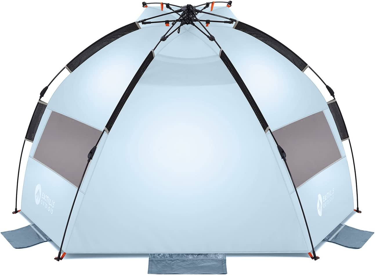 Easthills Outdoors Instant Shader Lite Easy Up Portable Beach Tent Sun Shelter UPF 50+