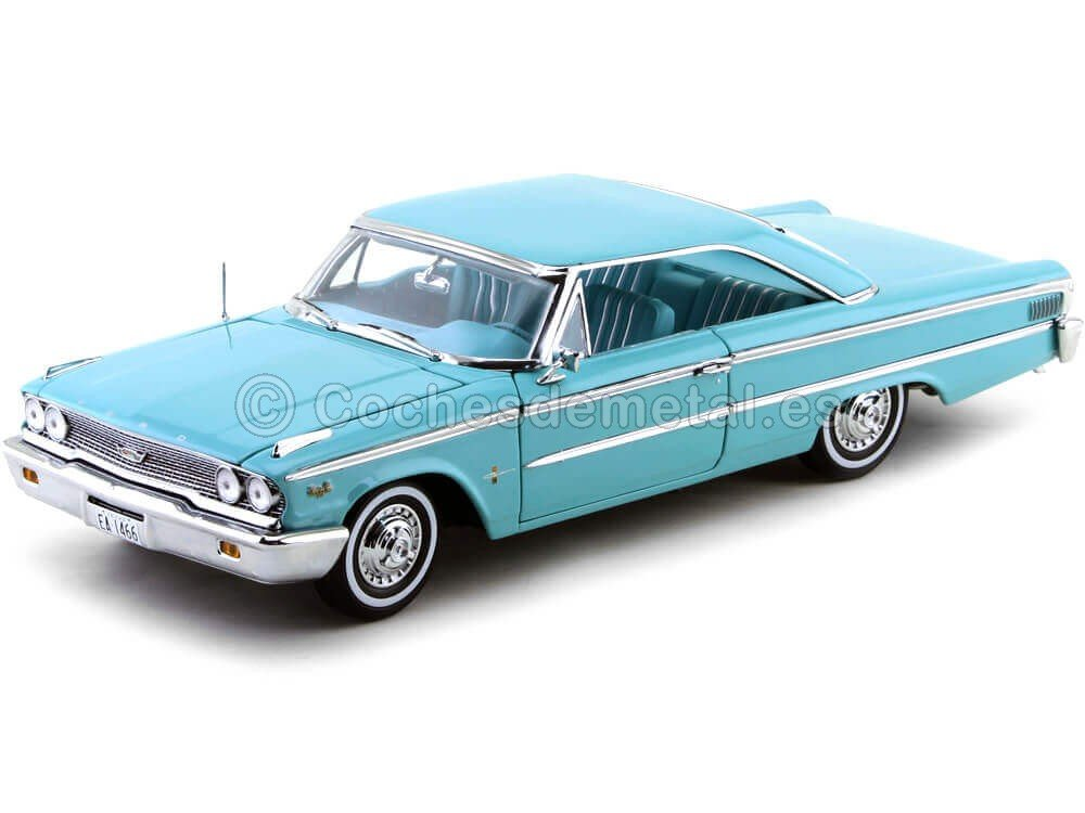 Sunstar Vehículo en Miniatura – Ford Galaxie 500 XL – Hard Top – Escala 1/18
