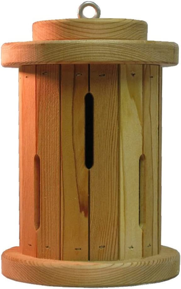 Nature Gift Store Round Butterfly House:10 Inches Tall Hand-Made in Wisconsin for Your Flower Garden