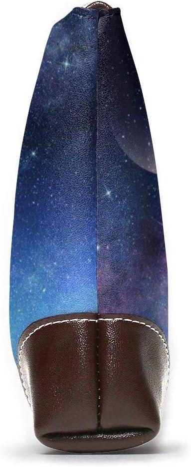 Not Applicable, Pochette pour Femme Violet Ciel étoilé avec Lune. Taille Unique Starry Sky Night Forest