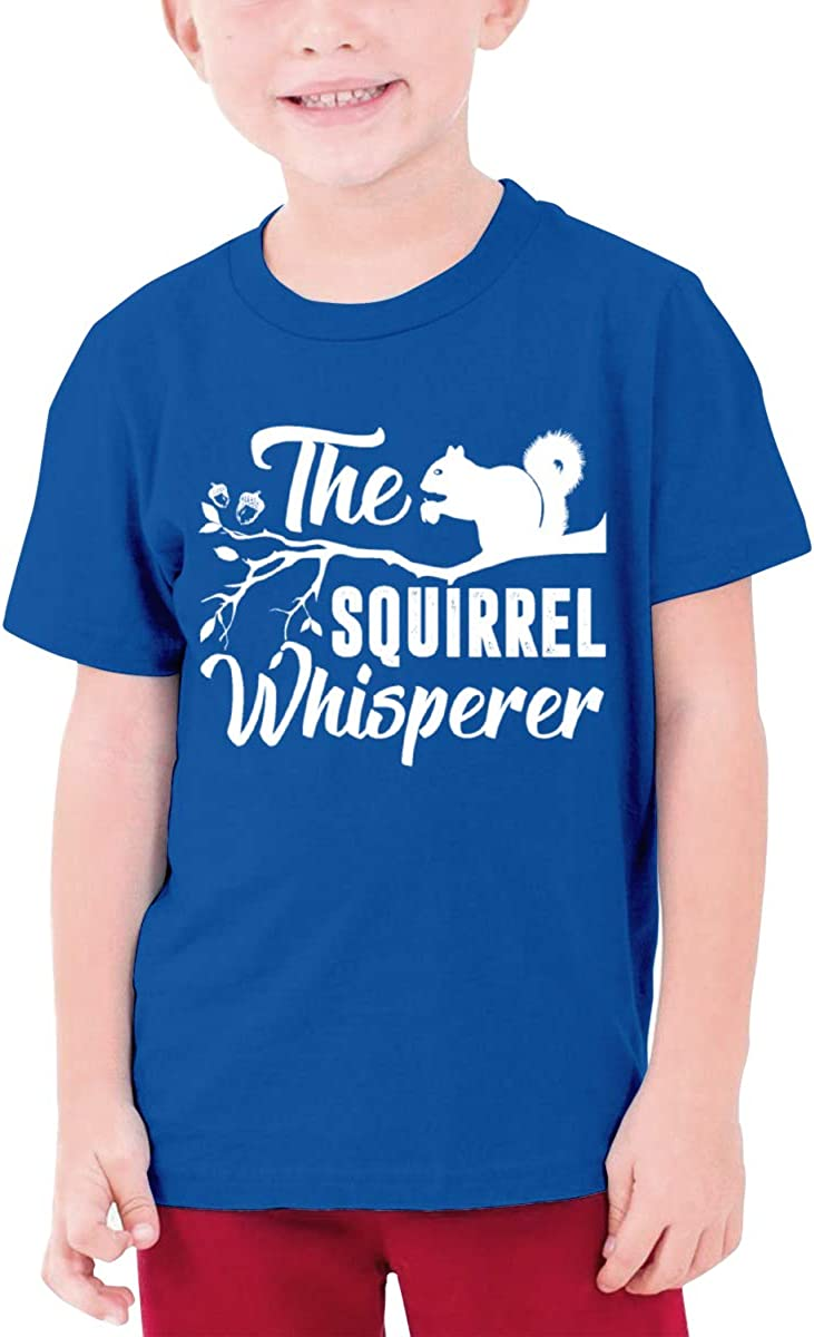 Fzjy Wnx The Squirrel Whisperer Boy Short-Sleeve T-Shirts