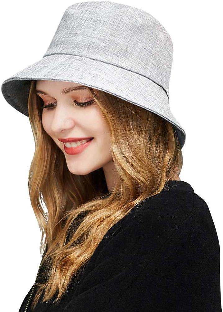 DOCILA Linen Bucket Hat...