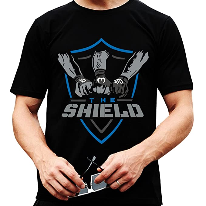 23d11fed The Shield WWE New T Shirt 2017 (Small (S)) Black