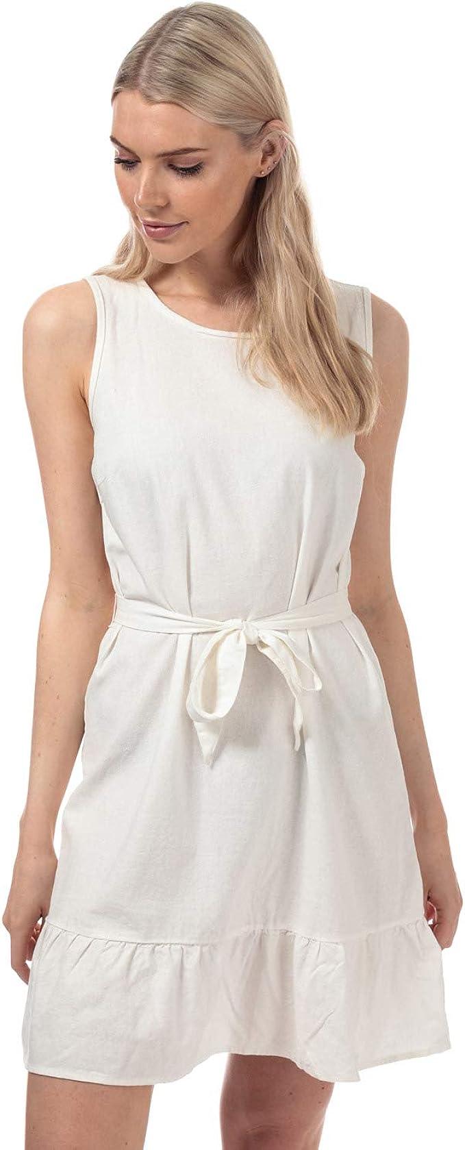 Vero Moda Kleid ohne Ärmel Anna Milo weiß Damen: Amazon.de: Bekleidung