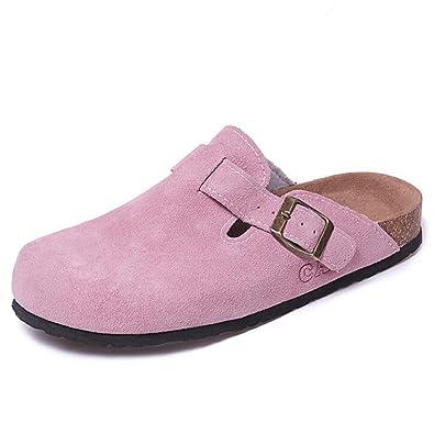 Sandalen PU-Druckoberteil Clip-Zeh Hausschuhe Weiblich Sommer- Mode Eva-Kork Flache Schuhe (Farbe : 8, Größe : EU36/UK4/CN36)