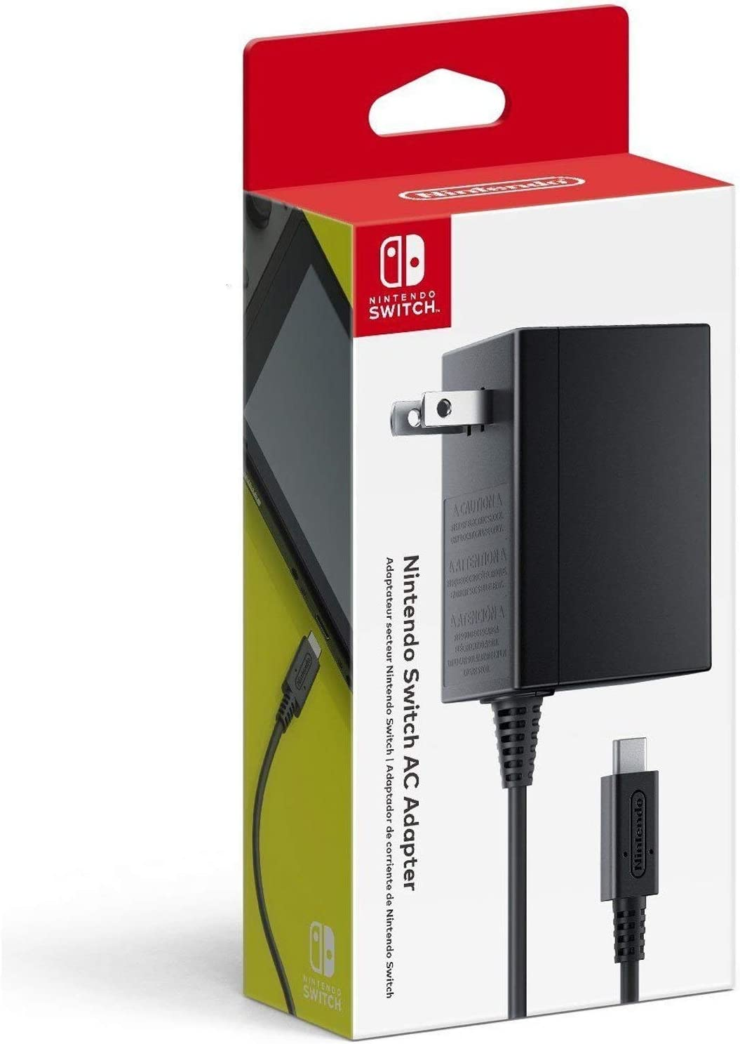 Nintendo Switch Power Adapter Interior Negro: Amazon.es: Electrónica