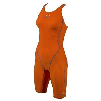 0394144d26f47c ZAOSU Wettkampf-Schwimmanzug Z-Orange für Damen & Mädchen: Amazon.de ...