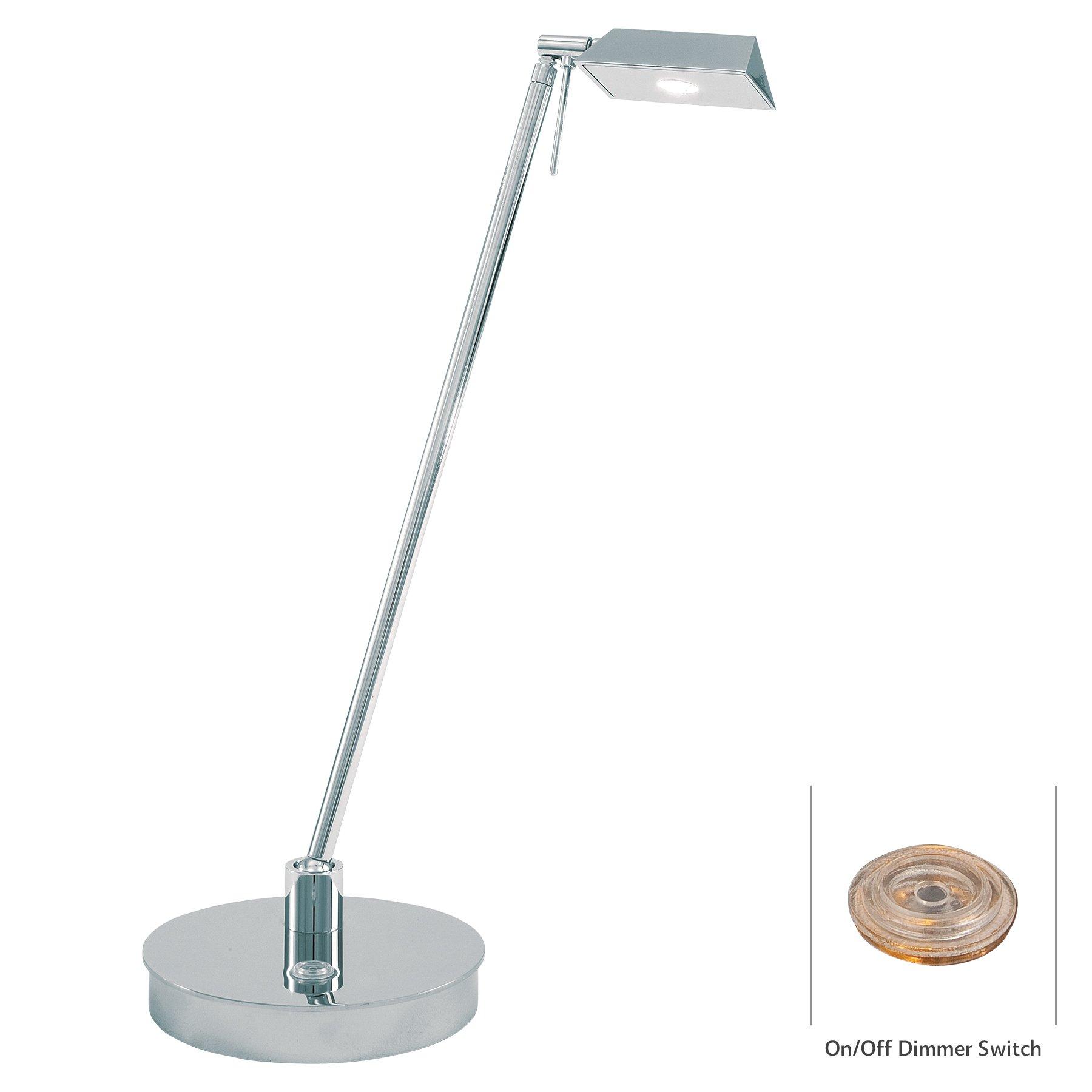 George Kovacs P4316-077 One Light Led Table, 19'' x 20.9'' x 6.25''