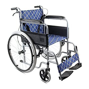 Amazon.com: MLX - Silla de ruedas plegable manual para ...