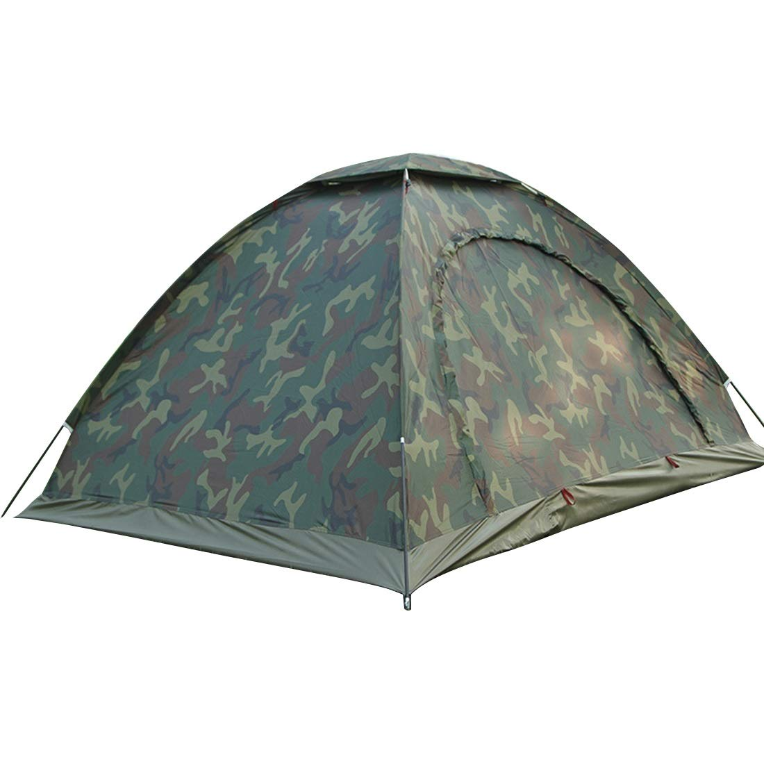 WEATLY 1 Person & 2 Person & 3 Personen Camouflage Zelt für Outdoor Camping