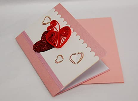 Amazon.com: Valentines Card (Set of 4) - Premium Quality Assorted ...