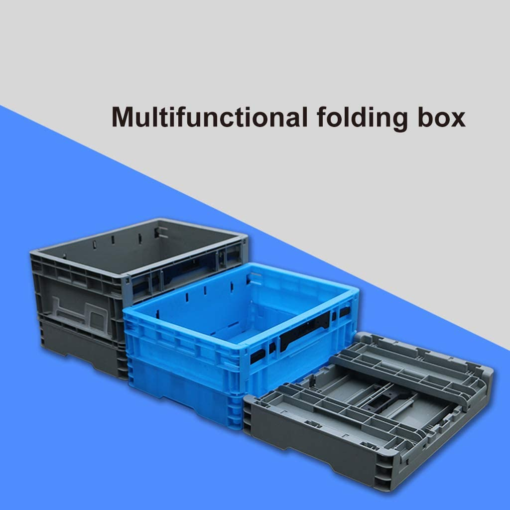 Collapsible Storage Crate for Neat Convenient Storage and Space-Saving Suitable for Spaces Like Home Office Truck Etc