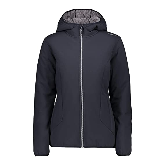 Damen Jacket Softshelljacke Fix Hood Cmp 38a2116 Woman JK1TlF3c