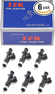 New 6PCS Fuel Injectors For Dodge Chrysler 0280158028 04591986AA 2.7 3.5 Use