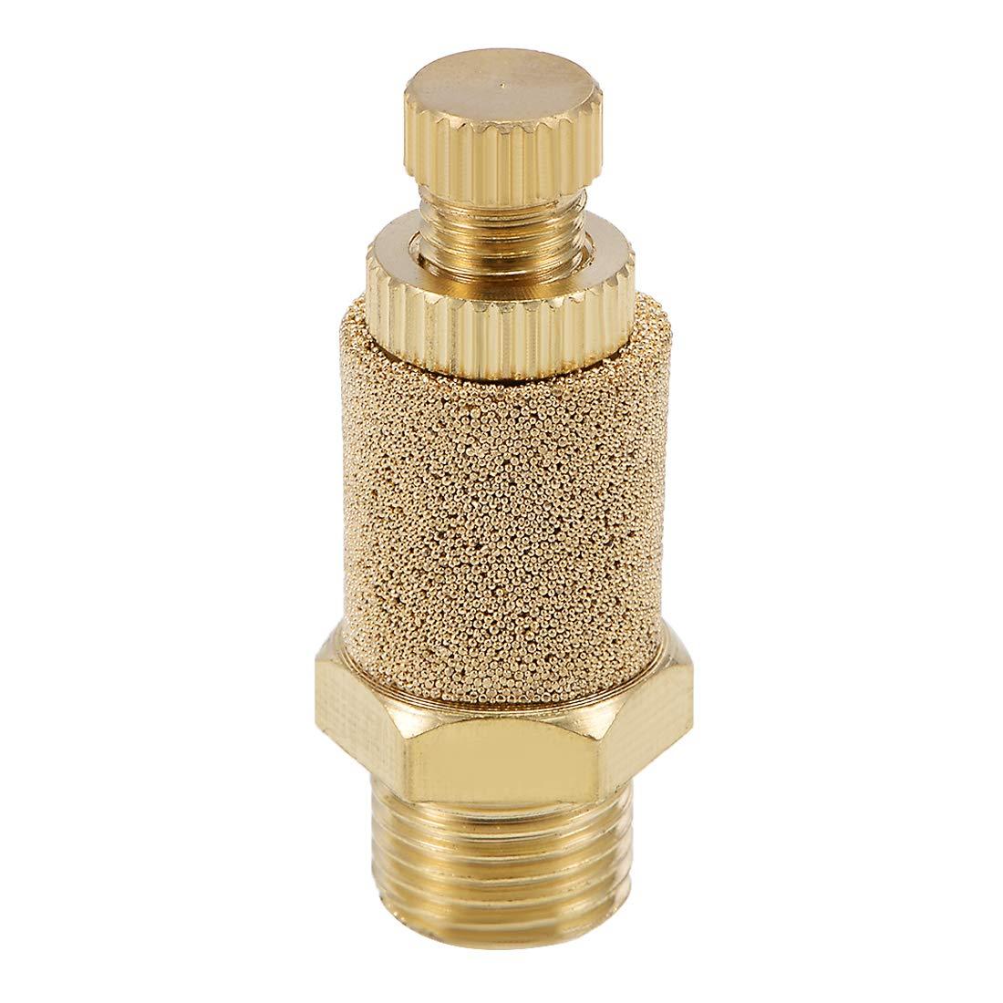 Pack of 2 Uxcell a14042800ux1306 2Pcs 1//8PT Thread Sintered Pneumatic Exhaust Silencer Muffler Fitting