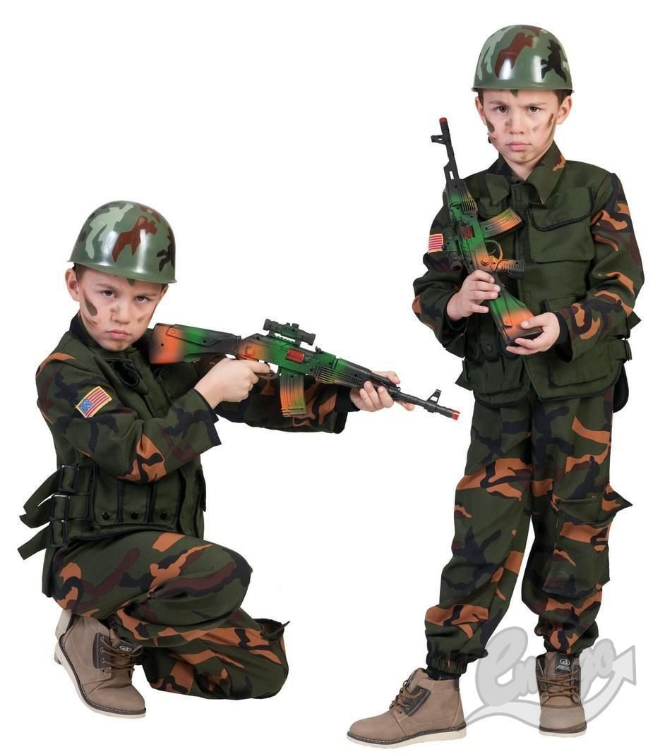 ARMY SPECIAL Foces COSTUME 140cm 403118