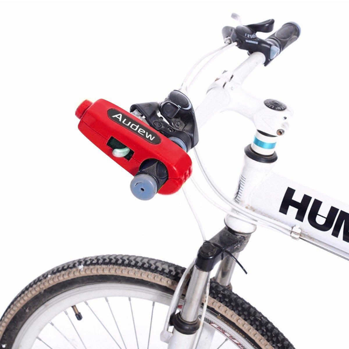 Audew Motocicleta/Scooter/ATV/Palanca de Freno para Manillar de Bicicleta antirrobo de Bloqueo, Bloqueo de Seguridad, Bloqueo de Puño del Acelerador: ...
