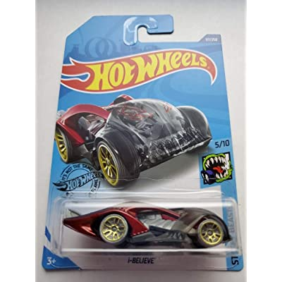 Hot Wheels 2020 Street Beasts i-Believe, Red 117/250: Toys & Games