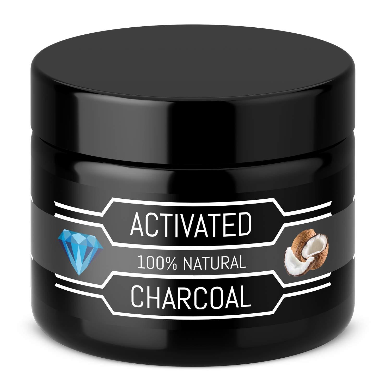 Carbón Activado Premium – Polvo 100 % orgánico – Sin aditivos químicos – blanqueador dental – Para blanqueamiento - Active Carbon Activated Charcoal - past