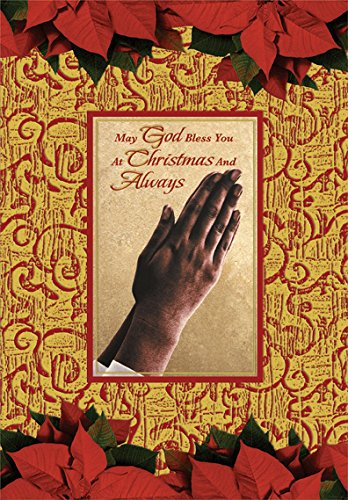 Search : Hands of Prayer: African American - Designer Greetings Box of 18 Christmas Cards