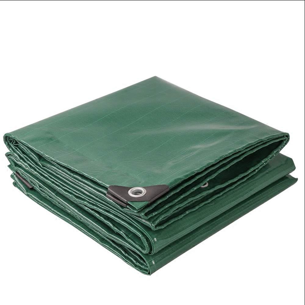 YANFEI ターポリン, 厚いターポリン100%アンチUVキャンバス両面防水床カバー (サイズ さいず : 5*10m) 5*10m  B07KF16NVG
