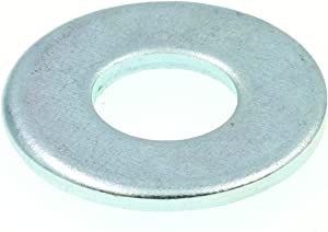 Prime-Line 9080006 Flat Washers, USS, 3/8 in. X 1 in. OD, Zinc Plated Steel, 100-Pack