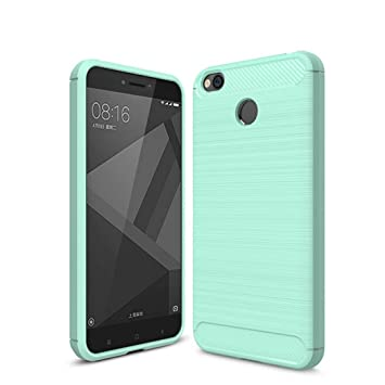 Xiaomi Redmi 4X Funda[Carbón Fibra], Redmi 4X Carcasa Slim ...