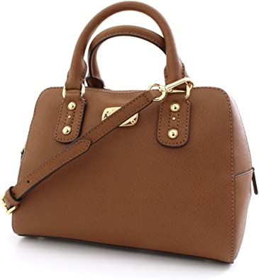 michael kors saffiano small satchel