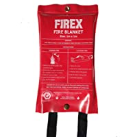 Firex Fire Blanket - 100cm x 100cm