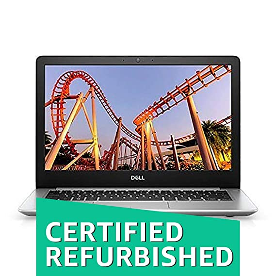 (Renewed) DELL Inspiron 5370 13.3-inch FHD Laptop (Core i5-8250U/8GB/256 SSD/Win 10/ Pre-Installed MS Office Home & Student 2016 /Integrated Graph