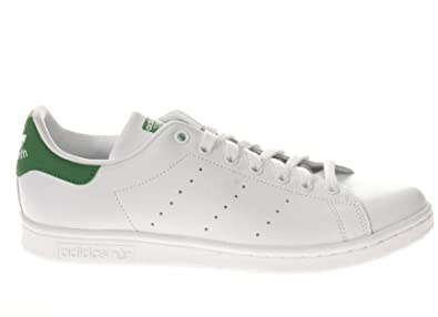 f5a9f35128e7 Adidas Stan Smith Chaussures de Sport pour Homme Blanc Cuir M20324 ...