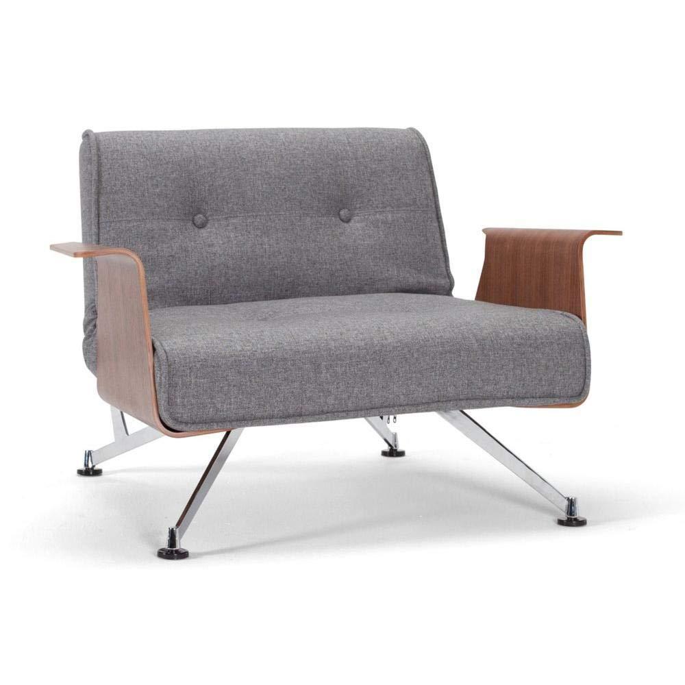 Innovation Living Silla Design Clubber reposabrazos Gris ...