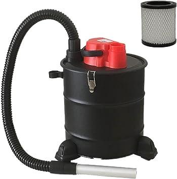 Aspirador de cenizas con ruedas de la marca Grafner®, 20 litros ...