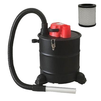 Aspirador de cenizas con ruedas de la marca Grafner®, 20litros, 1200