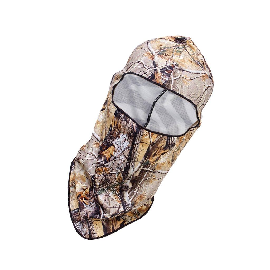 Calavera Máscara Protector UV Cara Cabeza Cubierta Caza Montar Pesca Halloween Genérico