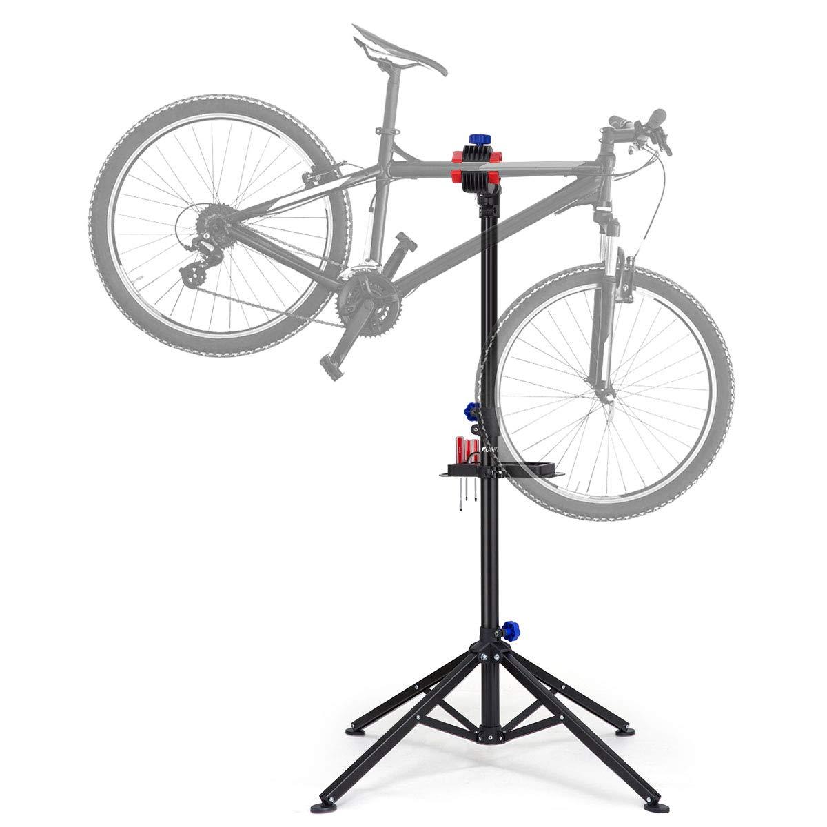 KUOKEL Bike Repair Stand, Foldable Bicycle Repair Rack Workstand, Height Adjustable by KUOKEL