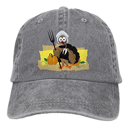 Hainingshihongyu Cute Turkey Baseball Caps Adult Sport Cowboy Trucker Hats Adjustable - Sacramento Downtown Mall