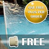 Pool Cooler - Decreases the pool water temperature 8-10 degrees - Do it yourself Install - Easy to Install, Easy to Dismantle - No Energy required to operate