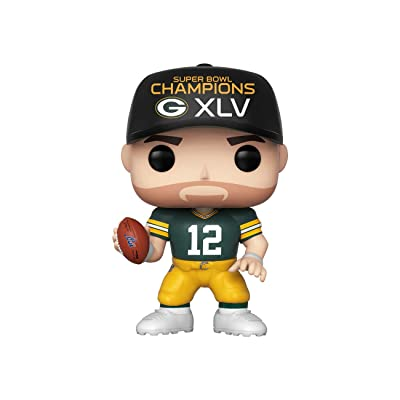 Funko POP! NFL: Packers - Aaron Rodgers (SB Champions XLV): Toys & Games
