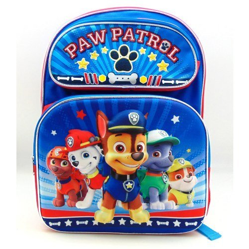 "Paw Patrol Boys Team 3D 16"" Backpack"