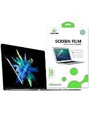 LENTION Protection écran Transparent pour MacBook Pro (13 Pouces, 2016-2019, Quatre/Deux Ports Thunderbolt 3) A1706/A1708/A1989, Film de Protection HD avec Un revêtement hydrophobe et oléophobe